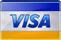 Visaクレジットカードのロゴ