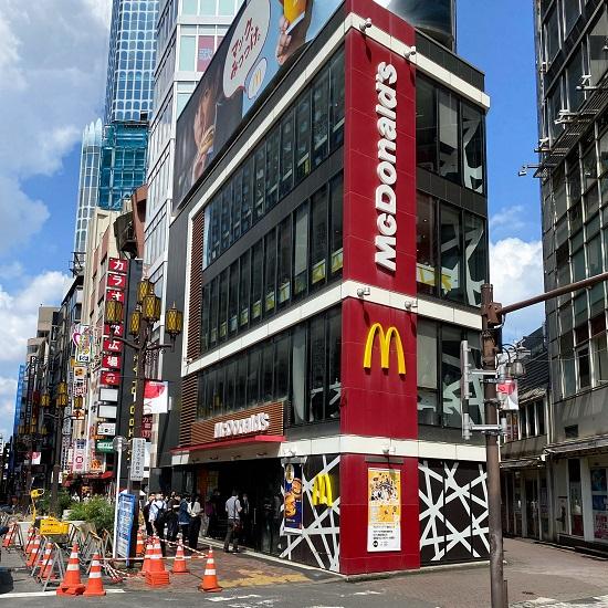 月の真珠-新宿-の待ち合わせ型における、マクドナルド 西武新宿駅前店の画像